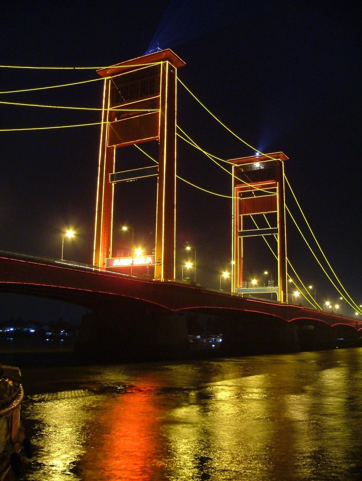 Pemandangan Kota Palembang Indonesia - Betara