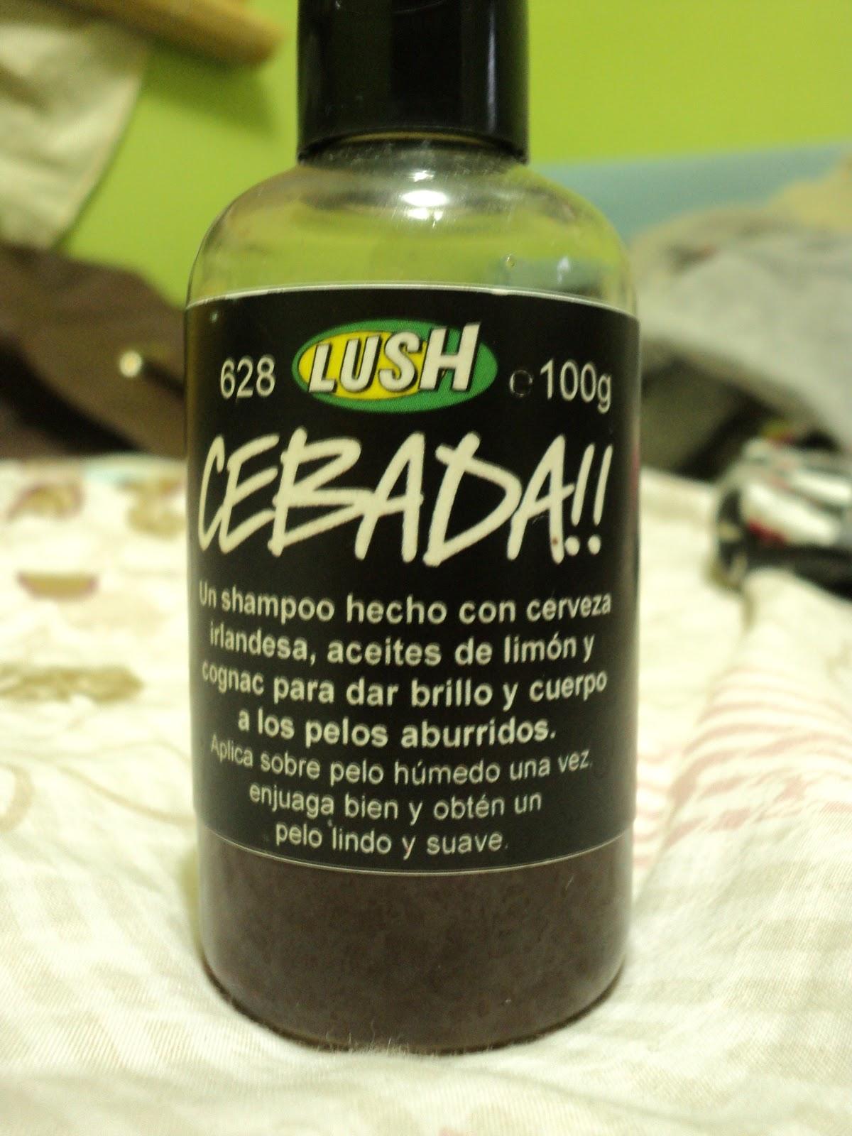 Flying like the birds: Shampoo CEBADA de Lush