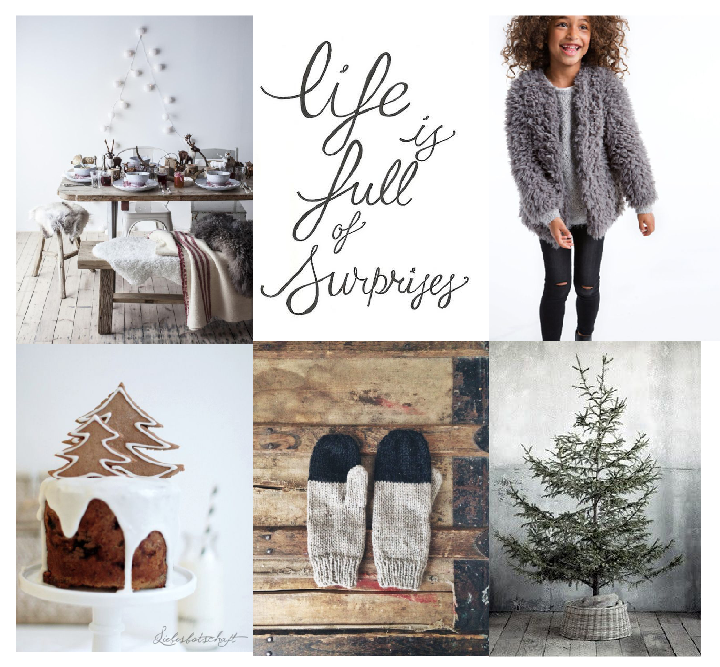 Moodboard: Getting all ready for Christmas holidays, starting today