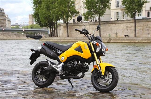 Honda MSX 125 Kuning