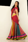 Kajal Agarwal Cute Half Saree Hot photo Shoot-thumbnail-1