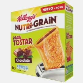 Kellogg's Nutri Grain para tostar chocolate