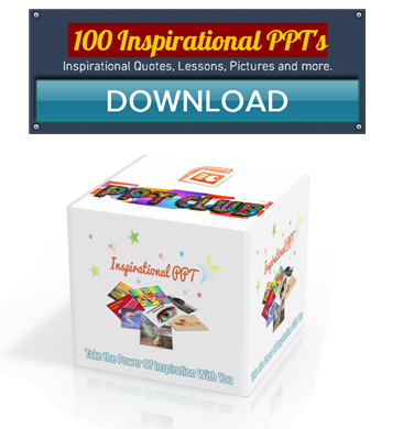 100 Inspirational PPT Collection