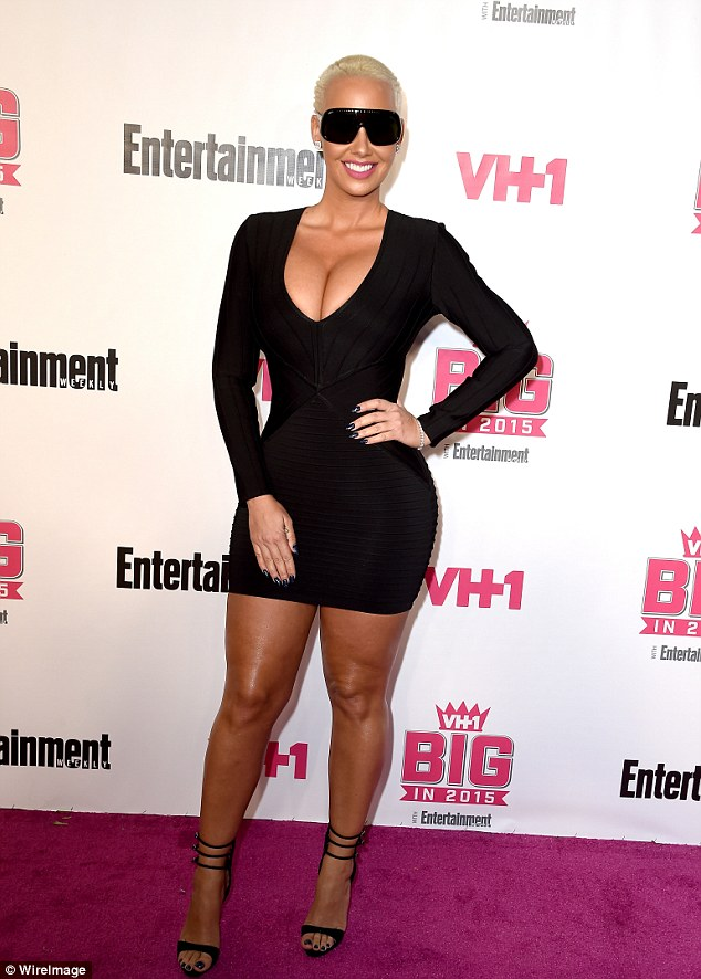 Amber Rose and Her Famed Physique Make Sure a Standard LBD at the VH1 Big in 2015 1
