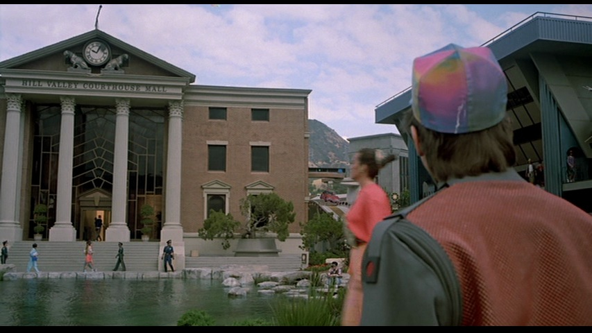 Back to the future clock tower burned filming locations back to the