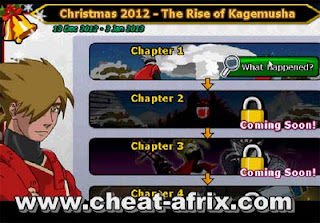 Cheat Christmas 2012 The Rise of Kagemusa Ninja Saga