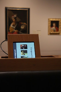 iPad in the European Gallery