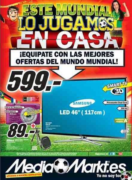 Ofertas de smart tv y electro media markt 5 11 junio 2014 for Ofertas hornos media markt