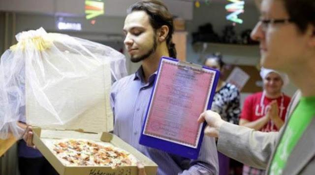Takut Dikhianati, Pria Rusia Menikahi Piza