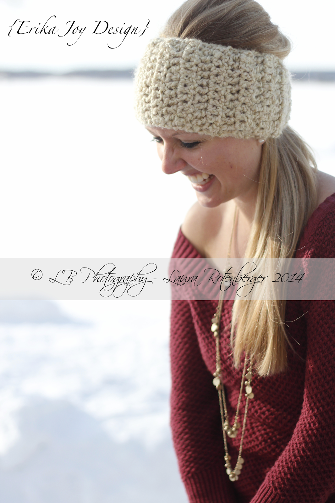 Crochet, Winter, LB Photography, Laughter