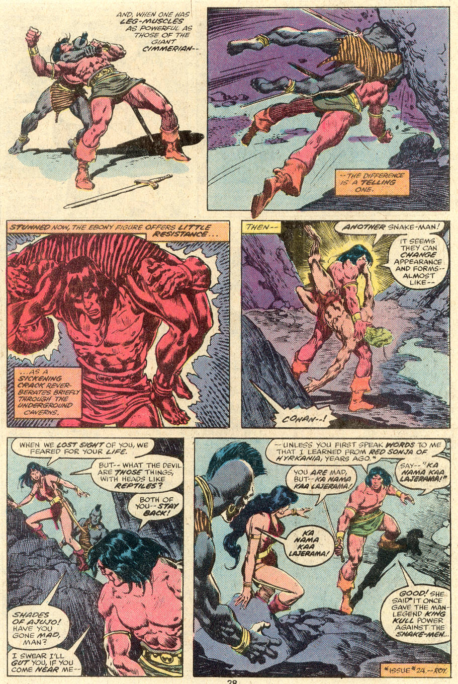 Conan the Barbarian (1970) Issue #89 #101 - English 16