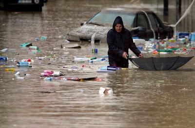GRAVES INUNDACIONES POR TORRENCIALES LLUVIAS EN PORTUGAL, 01 de Marzo 2013