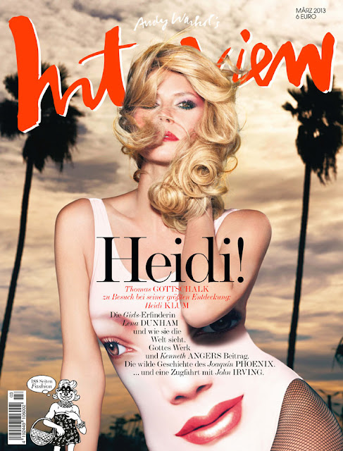 Heidi Klum by Rankin for Interview Germany March 2013