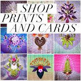 Shop my print and card collections: