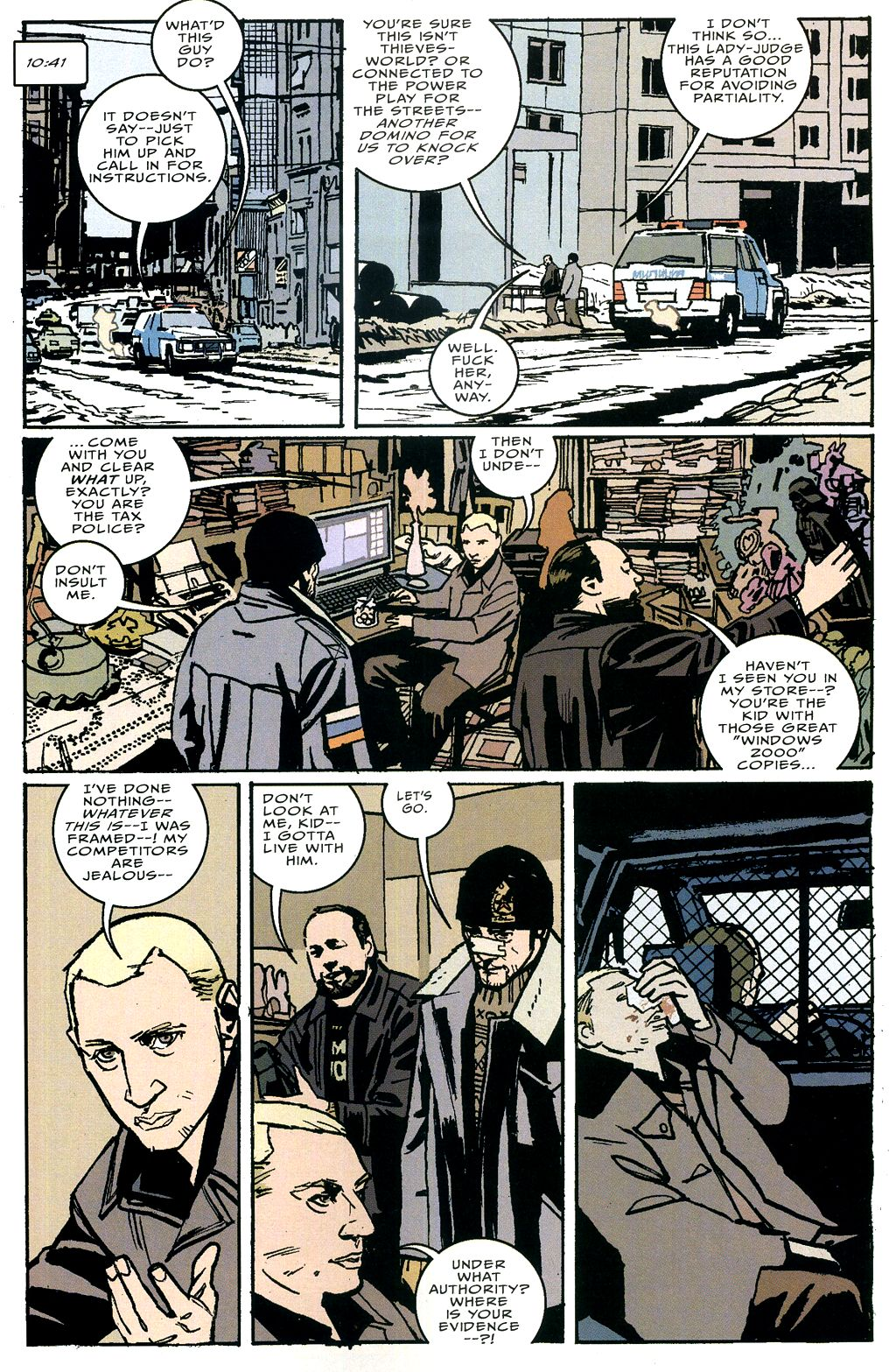 Read online The Winter Men comic -  Issue #4 - 6