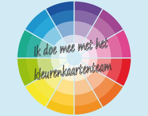 Ik doe mee met de kleurenkaartenteam