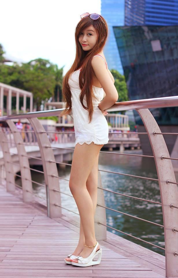 Ảnh gái đẹp HD Hot girl Mi Nhon vú gân 8