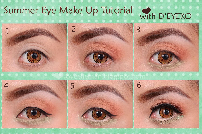 ... in One & True Glue Review + Summer Eye Makeup Tutorial (SPONSORED