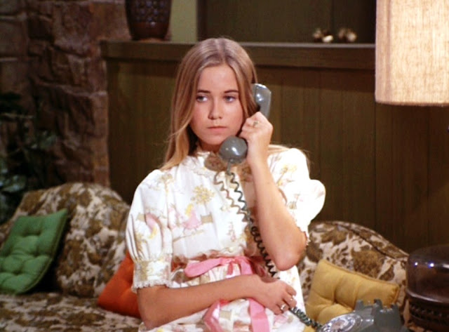 Marcia Brady saying no to dates