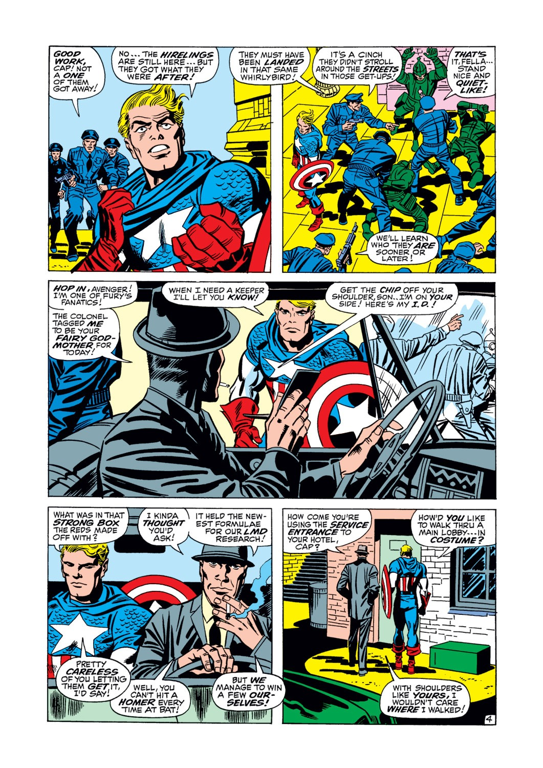 Captain America (1968) Issue #106 #20 - English 5