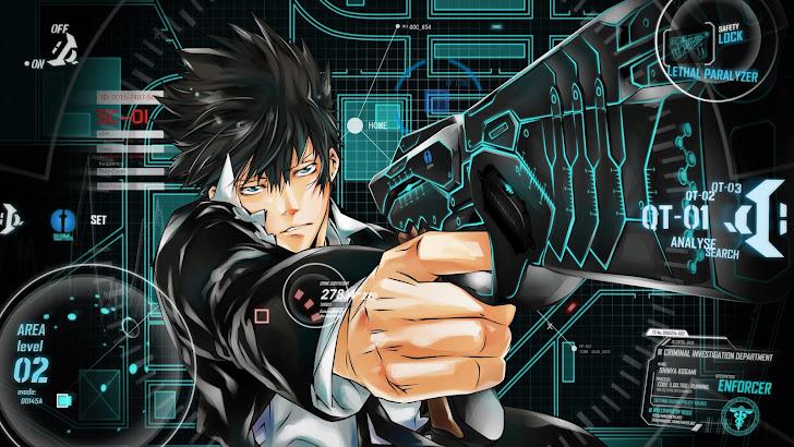 Shinya Kogami weapon gun the Dominator