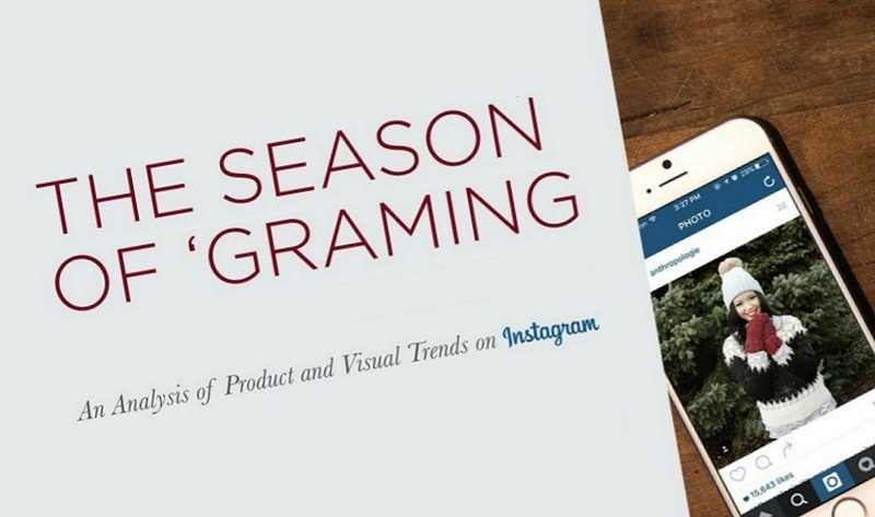 Infographic - Instagram Trends for the 2015 Holiday Shopping Season