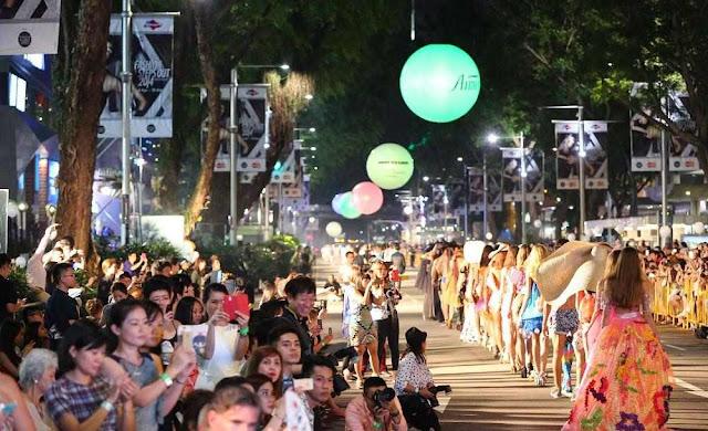 fashion show di orchard road