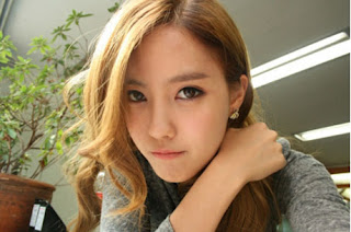 Hyomin Blonde