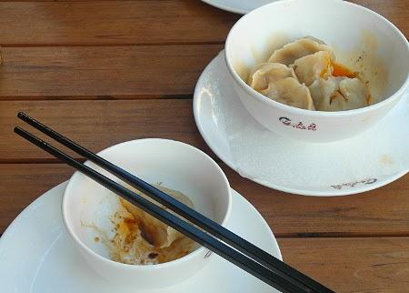 Scharfe Teigtaschen im Tian Fu Berliner Straße  - Chinesisches Restaurant