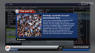 FIFA 13 Career Mode - International Offers News Flash