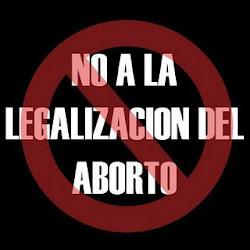 No a la legalización del asesinato de los indefensos