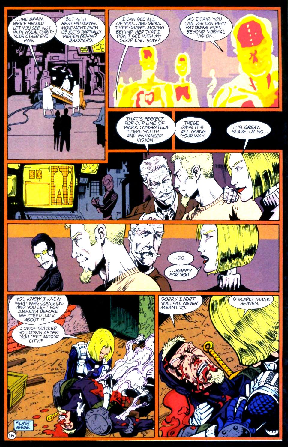 Deathstroke (1991) Issue #59 #64 - English 17