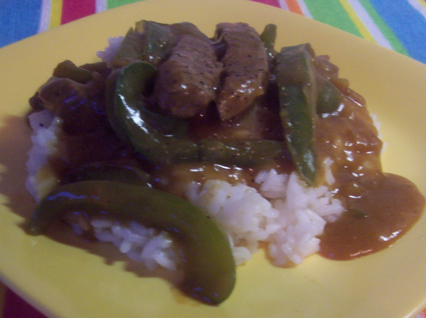 Served Up With Love: Green Pepper Steak