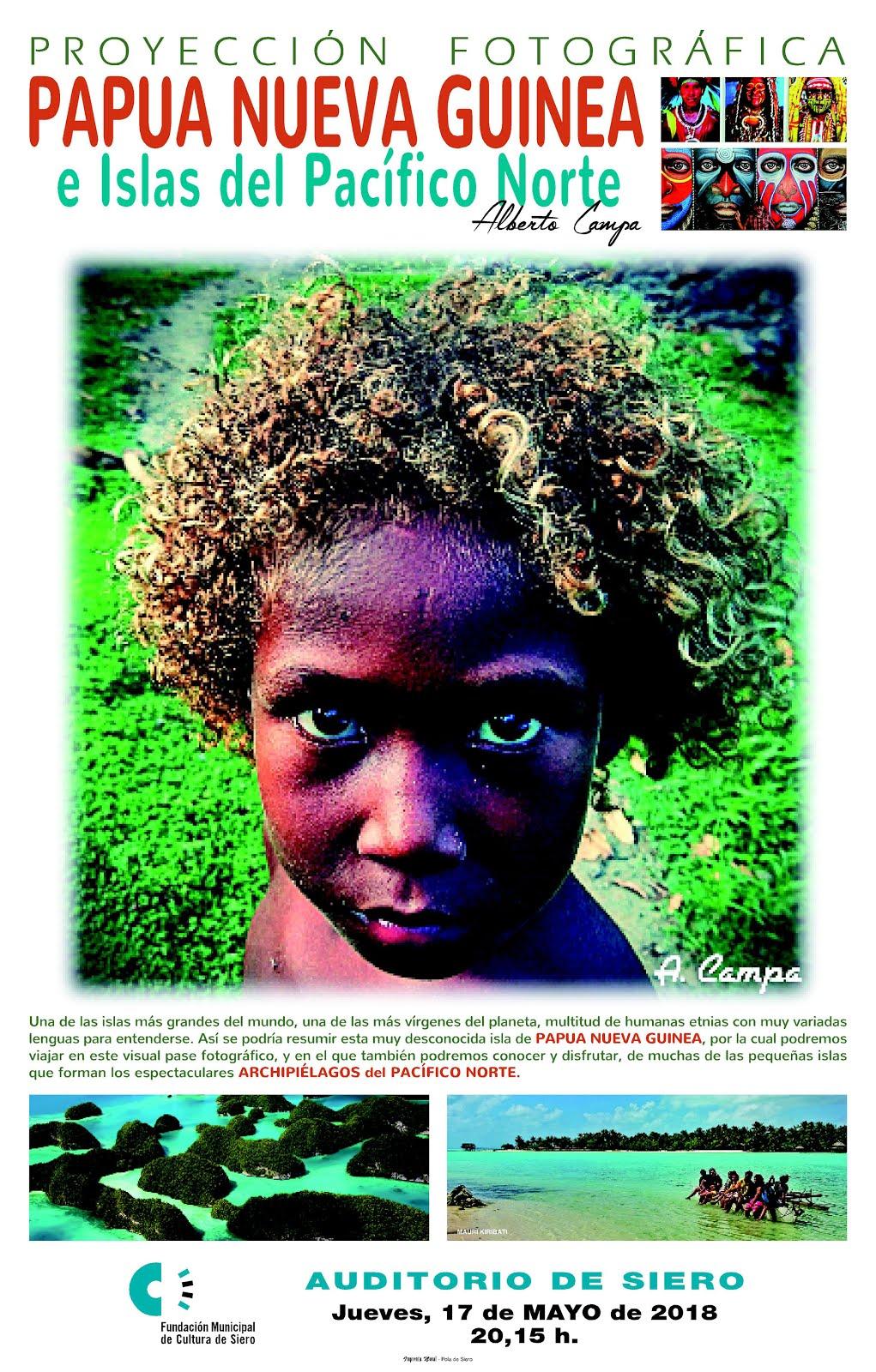 Proyección PAPÚA NUEVA GUINEA