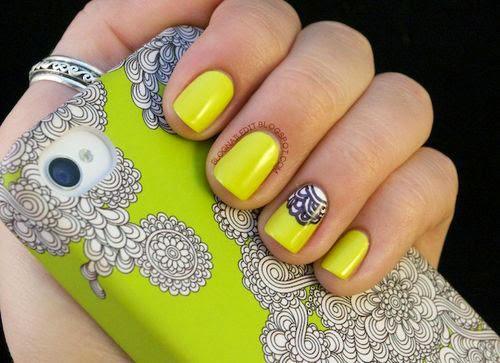 Diseños de uñas acrilicas 2015 - Imagui