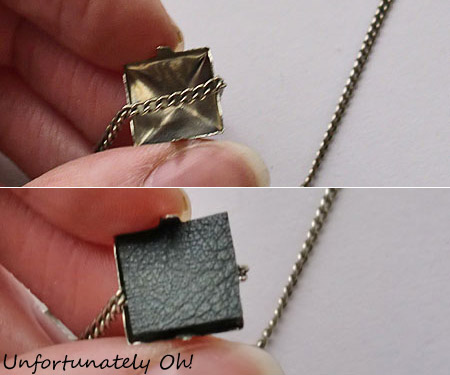 easy stud necklace