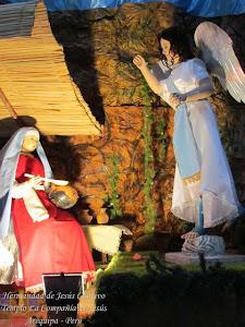 Diciembre - La Anunciación - Templo Santo Domingo - I Semana de Adviento