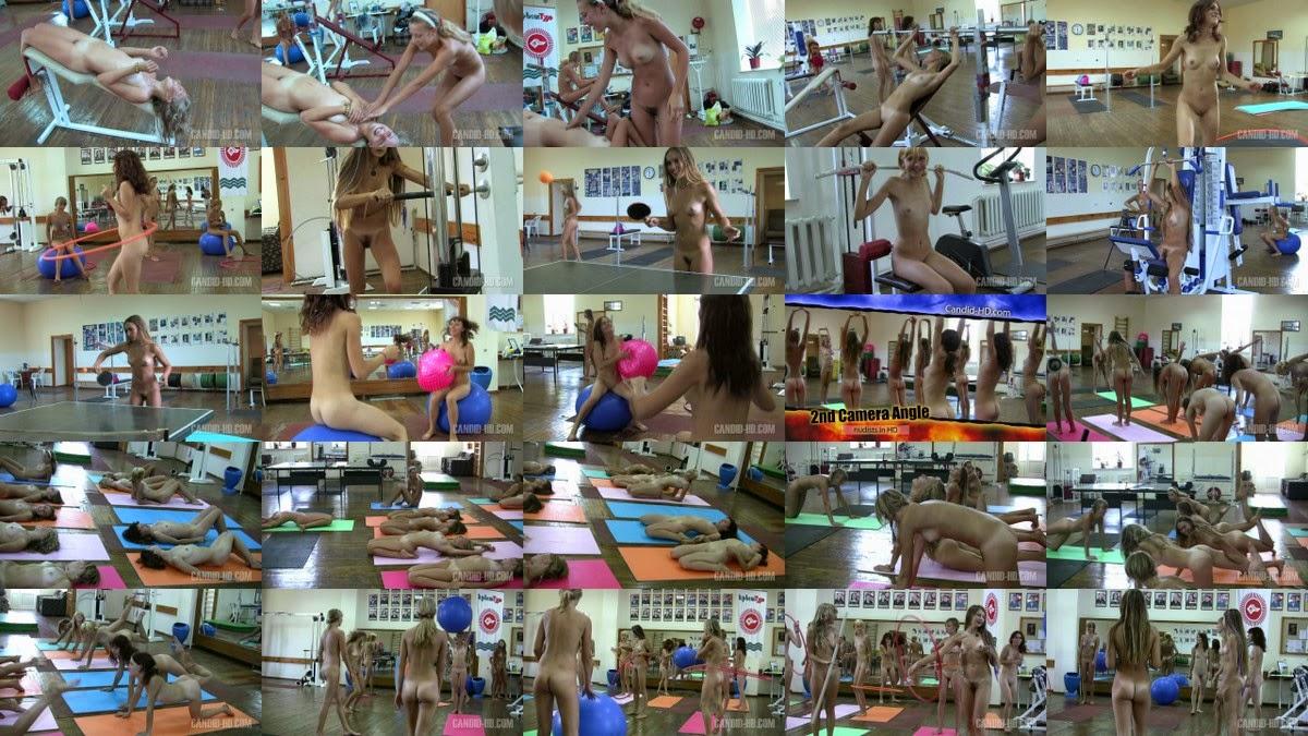 Teen Nudist Workout 1. Full version.