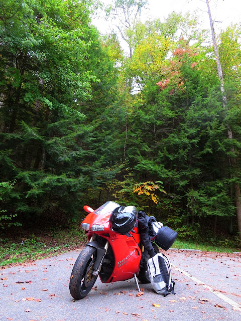 Ducati 916 Great Smoky Mountains National Park