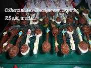 Colherzinha de Chocolate