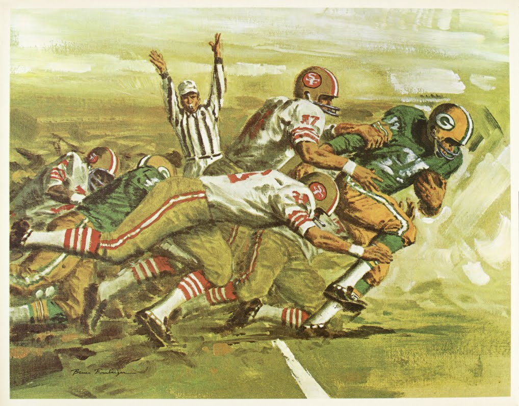 Green Bay Packers Wall Art packerville, u.s.a.: mobil gas posters