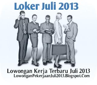 Lowongan Kerja Jambi Juli 2013