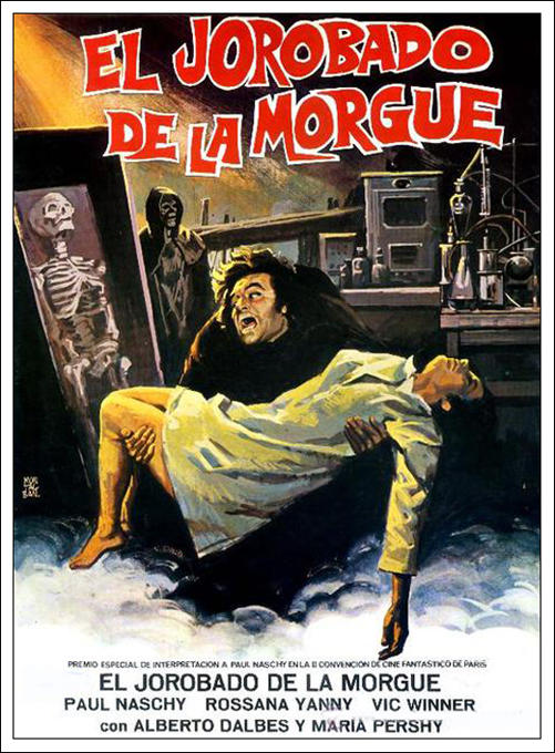Hunchback of the Morgue [1973] [UNRATED] [720p BluRay] [Dual] [Latino][MG+]