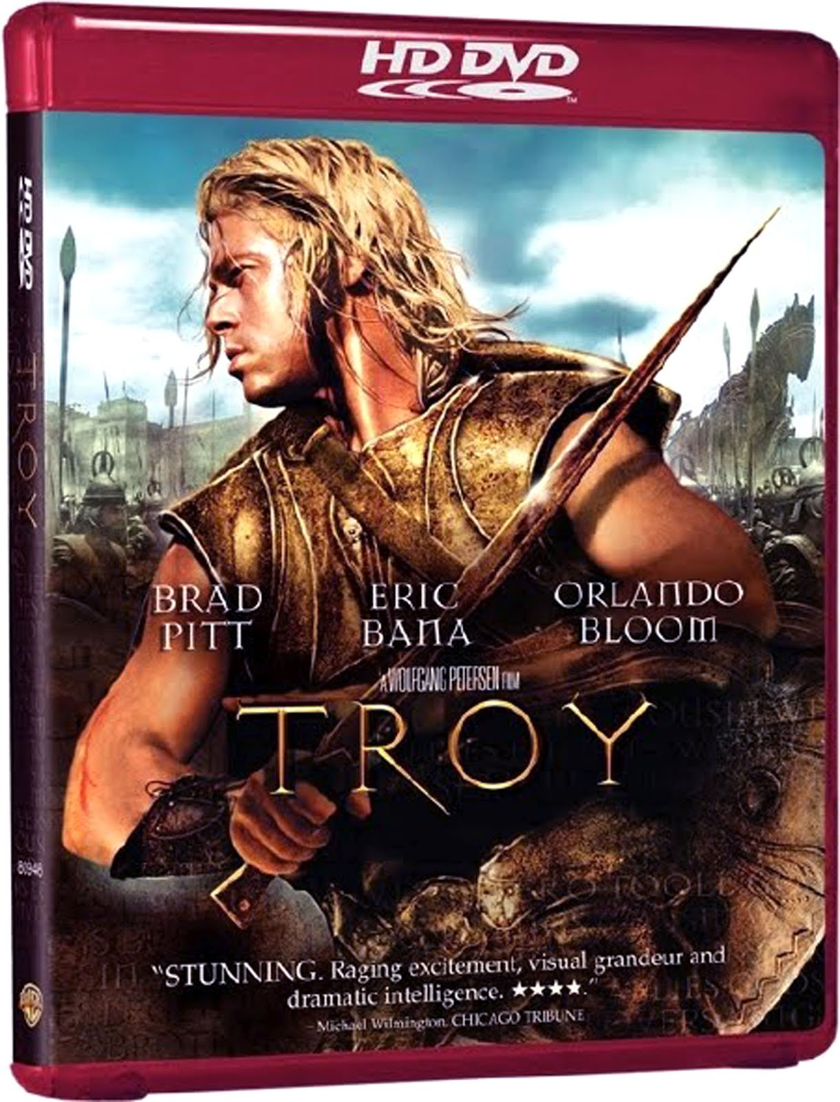 Troy HD Dvd Case