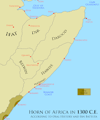 History of Medieval Somalia explained through Maps