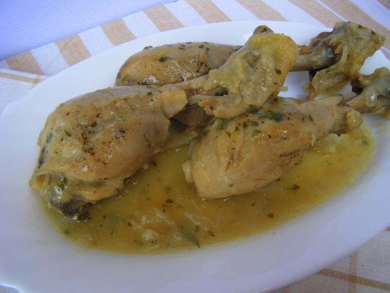 Muslitos de pollo en salsa verde recetas de cocina - Muslitos de pollo ...
