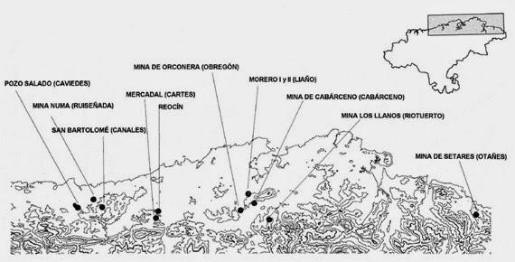 Minas romanas Cantabria