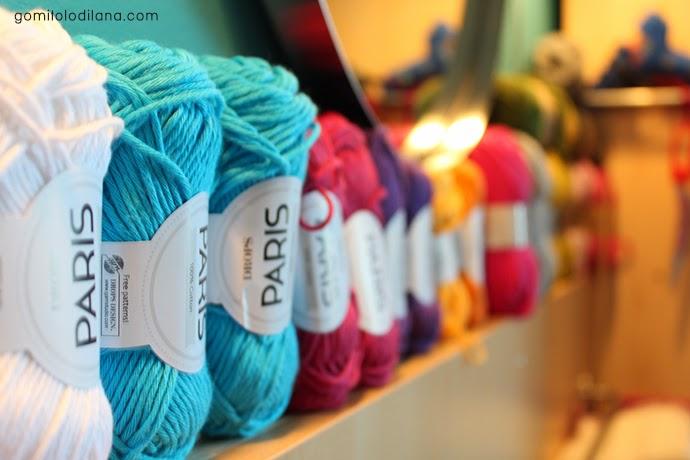 gomitoli di lana paris drops knitting e lavoro a maglia
