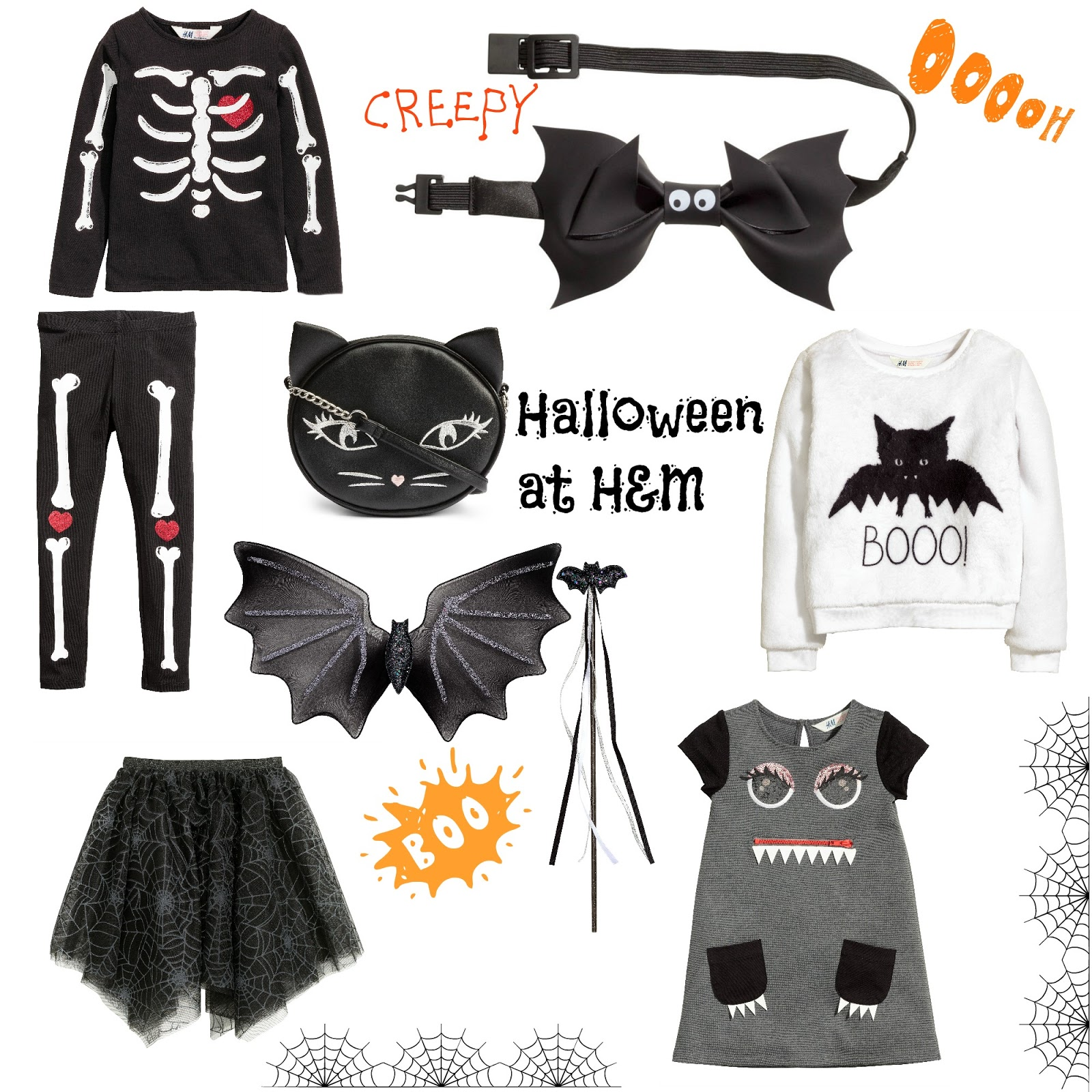 V. I. BUYS: More treat than trick - stylish Halloween style for kids at H&M, halloween, halloween dress up, H&M, kids fashion, fancy dress