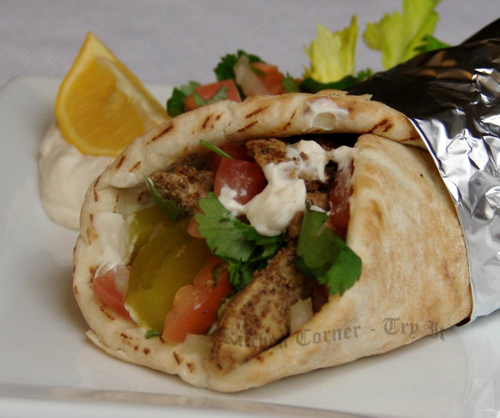 Kitchen Corner-Try It: Chicken Shawarma